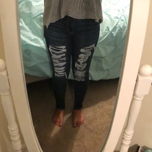 American Eagle Size 6 High Rise Jeggings